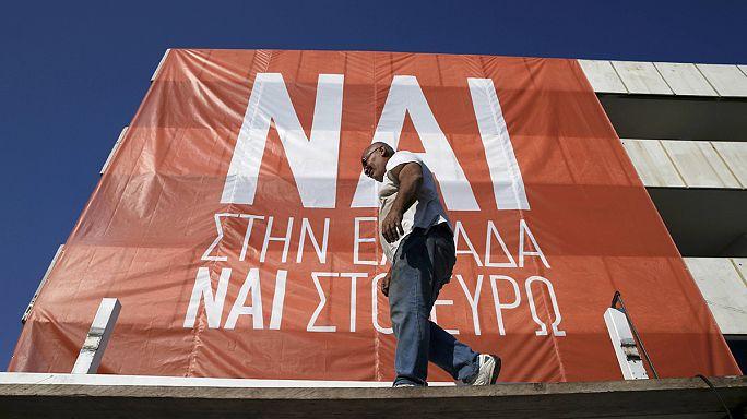 اليونان مقبلة على الاستفتاء