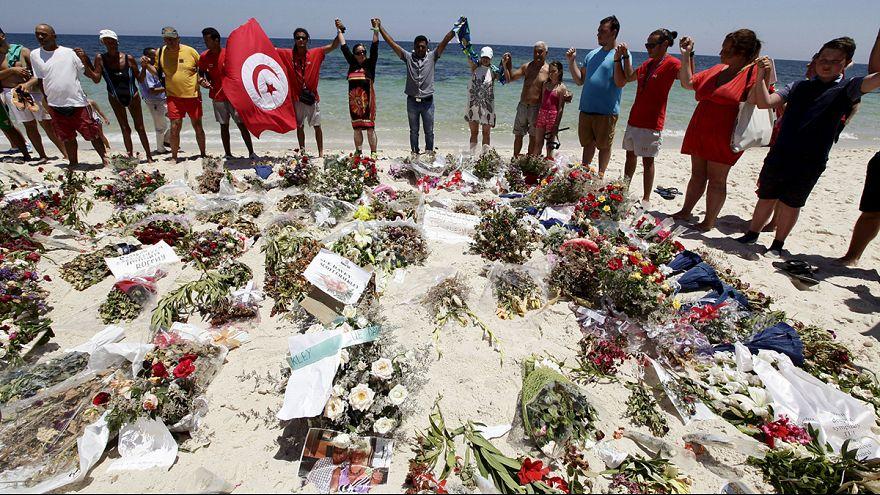 Gyász Nagy-Britanniában és Tunéziában