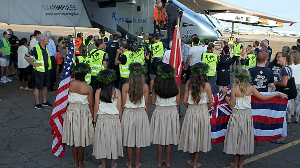 Solar Impulse completes record flight across Pacific