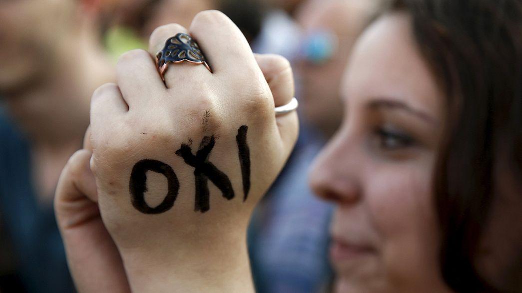 Tsipras alude al orgullo del pueblo griego para pedir el 'no' en el referéndum del domingo