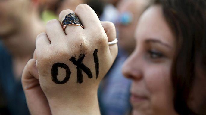 """Çipras Yunan halkından """"hayır"""" oyu istedi"""