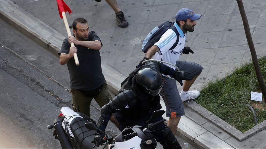 Афины: анархисты пытались спровоцировать столкновения