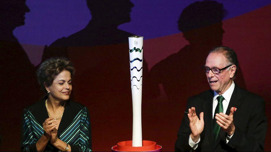 رونمایی از طرح مشعل المپیک برزیل