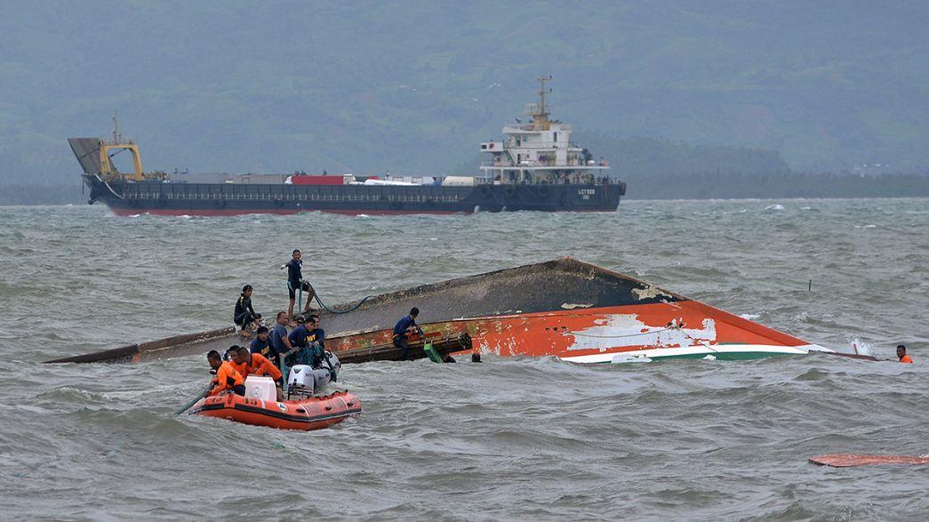 Filipinas: Tripulantes e proprietário de ferry acusados de homicídio