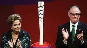 Rio 2016 organisers unveil innovative Olympic torch