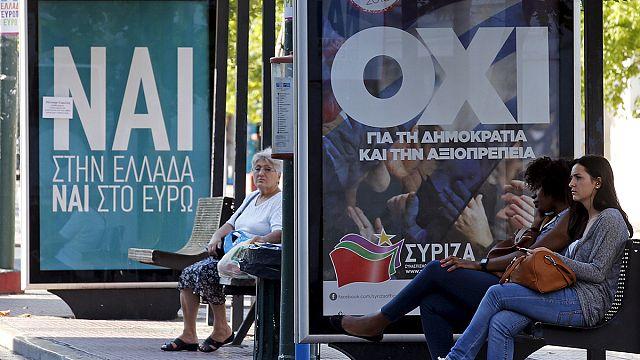 Yunanistan'da sokaklar referandum öncesi sakin