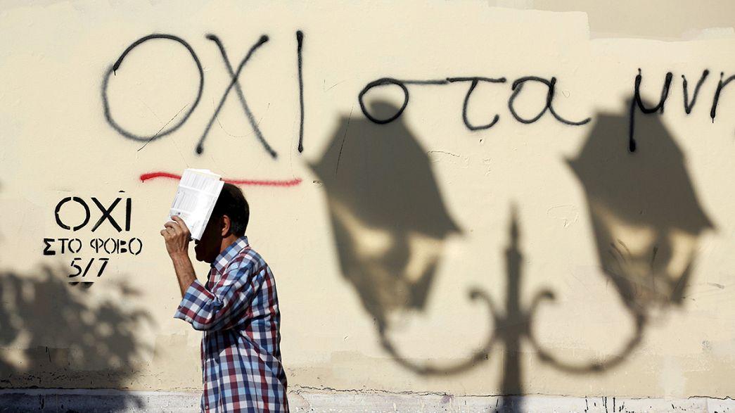 El referéndum mantiene dividida a la sociedad griega