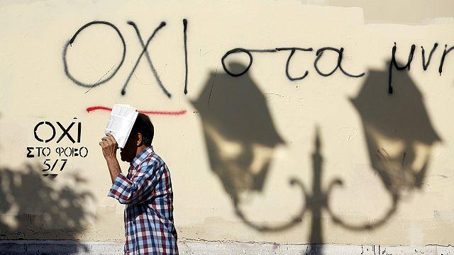 إنقسام حاد في صفوف اليونانيين عشية الاستفتاء