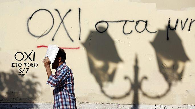 Yunanlar ülkenin kaderini belirlemeye hazırlanıyor