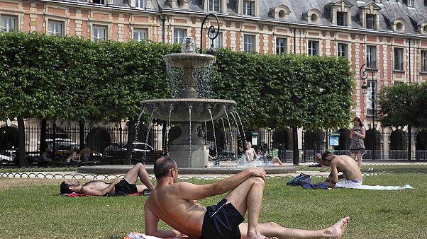 Temperaturas récord en Europa