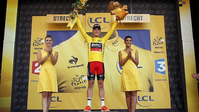 Fransa Bisiklet Turu ilk etabı sonunda sarı mayo Rohan Dennis'in oldu