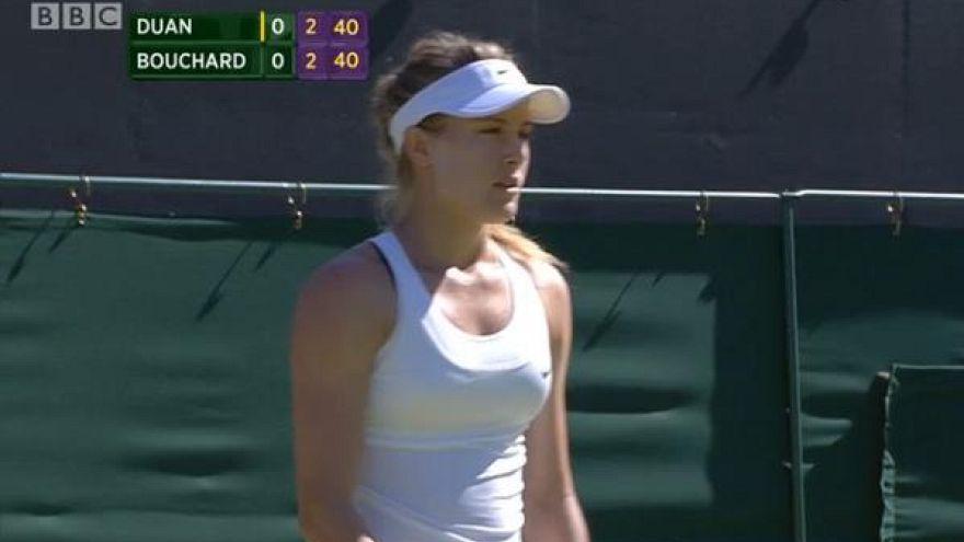 Wimbledon'da siyah sütyen bile yasak!