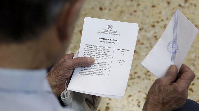 Rendben folyik a görög népszavazás
