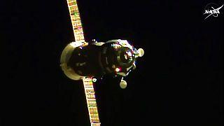 ISS: Progress aggancio completato