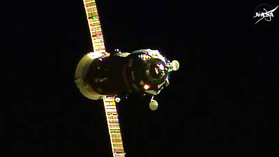 Russian Progress cargo ship docks at ISS, bringing vital supplies