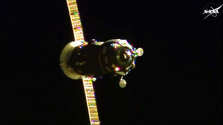 إلتحام مركبة بروغريس الروسية بمحطة الفضاء الدولية بنجاح