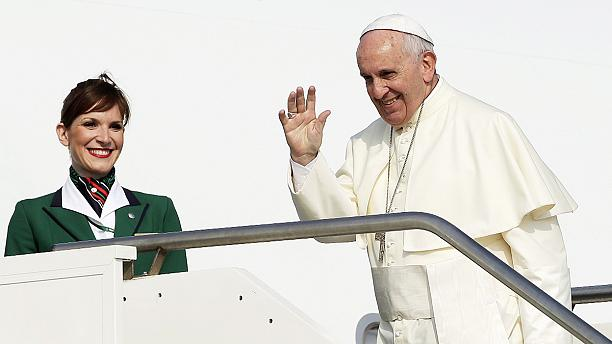 Pope leaves for visit to Latin America