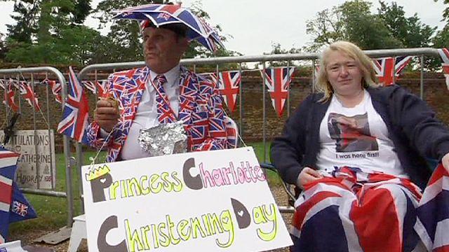 بريطانيا: تعميد الأميرة شارلوت