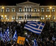 Greece says resounding 'No' to bailout proposals – partial results