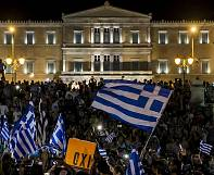 Greece gives resounding 'No' to bailout proposals