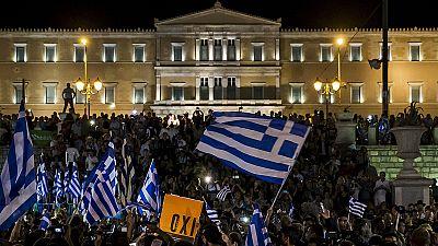 """Греческий референдум: """"нет"""" лидирует"""