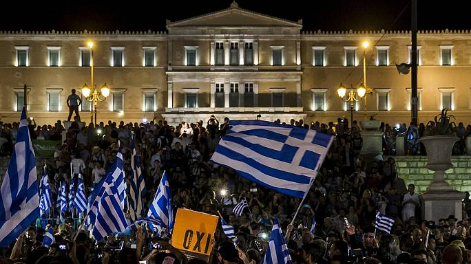 Greece votes 'No' in overwhelming rejection of bailout proposals