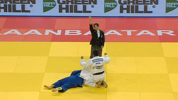 Mongolia and Japan call the shots at Ulaanbaatar Judo Grand Prix
