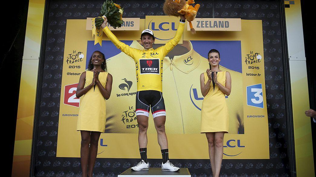 Volta à França: Cancellara veste amarela em etapa madrasta para Nibali e Quintana