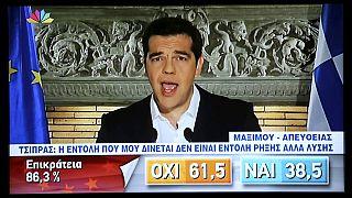 Алексис Ципрас благодарит греков за «храбрый выбор»