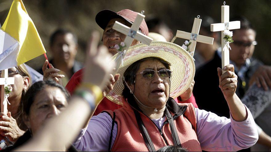 Папа римский Франциск начал турне по беднейшим странам Латинской Америки