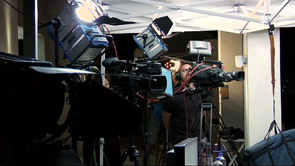 Viele ausländische Reporter verfolgten griechische Abstimmung