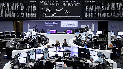 Markets down but no crash after Greece result