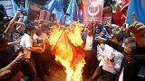 تركيا: مظاهرات مناهضة للصين بسبب تضييقات بكين على أقلية الأويغور
