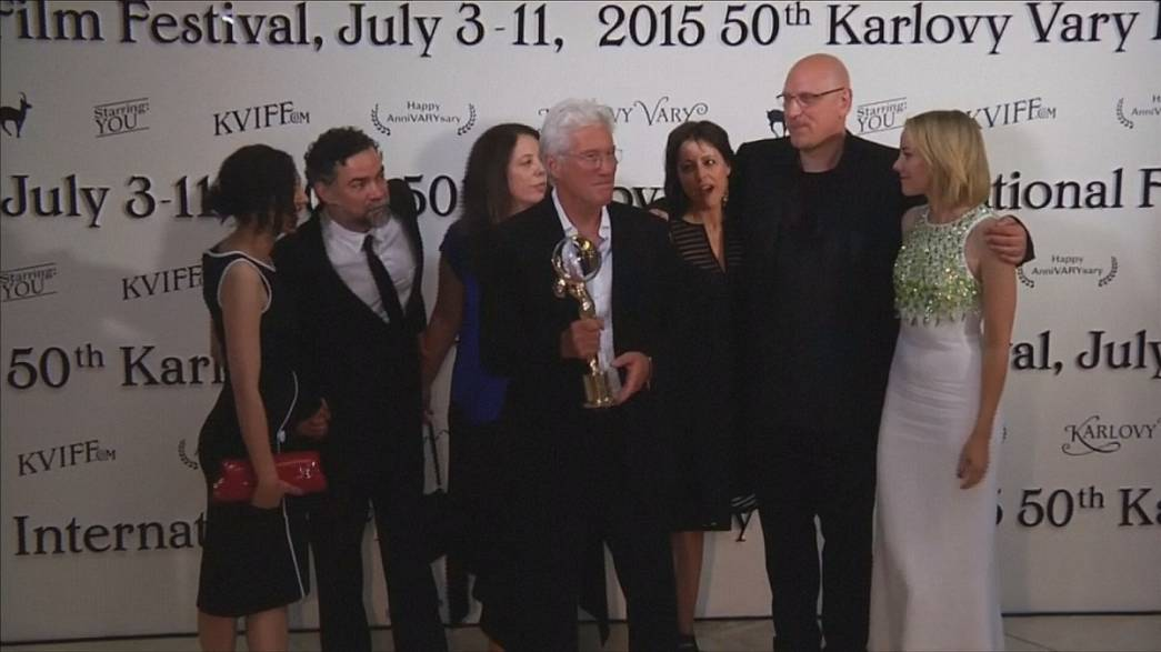 Richard Gere Karlovy Vary Festivali'nin onur konuğu oldu