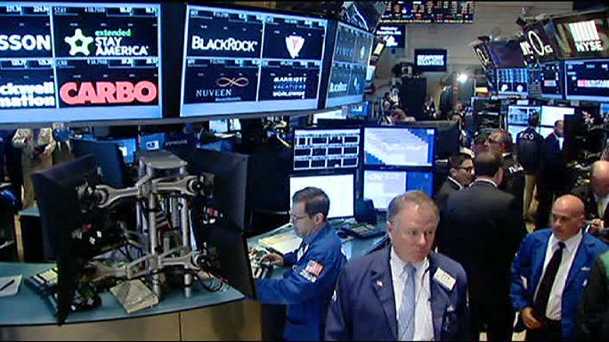 """Le """"non"""" grec fait aussi baisser les indices boursiers à Wall Street"""