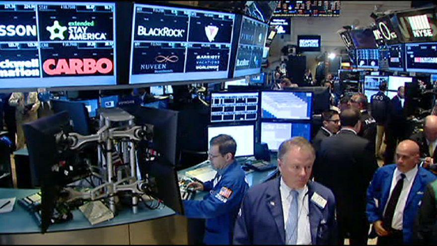 افت ارزش سهام در بازار بورس نیویورک همانند بازارهای اروپایی نگران کننده نیست
