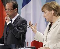 Watch live: Francois Hollande and Angela Merkel press conference on Greece