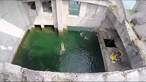 Soviet prison transformed into dive site in Estonia