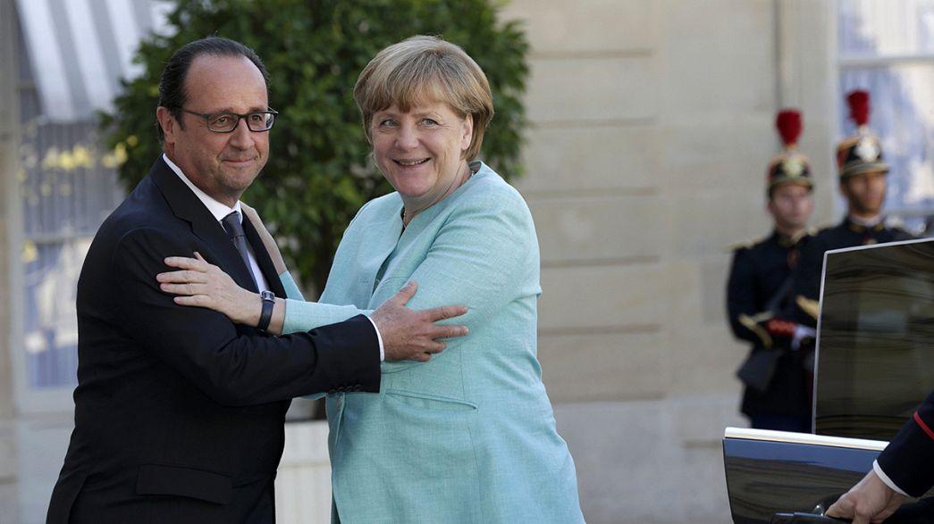 """Le couple franco-allemand se reforme pour éviter un """"Grexit"""""""
