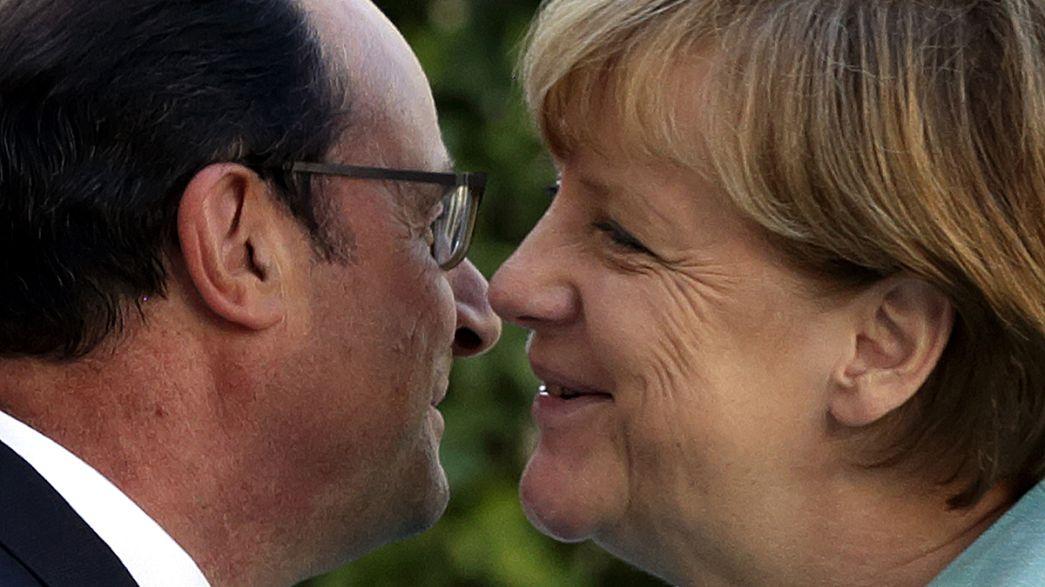Merkel y Hollande mantiene el mismo discurso en un contexto que se radicaliza