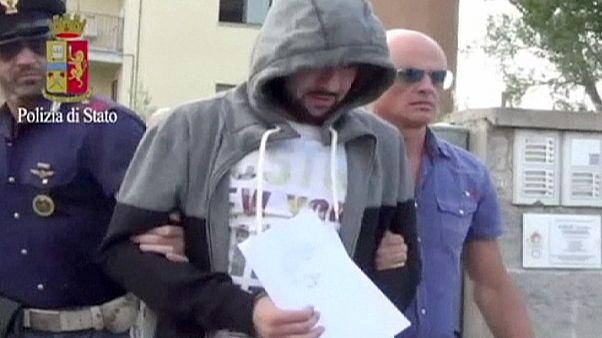 İtalya'da terörist avı