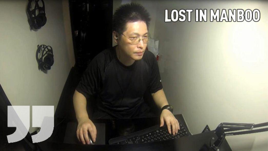 """Giapponesi """"in scatola"""": vivere in 4 metri quadrati di un internet café"""