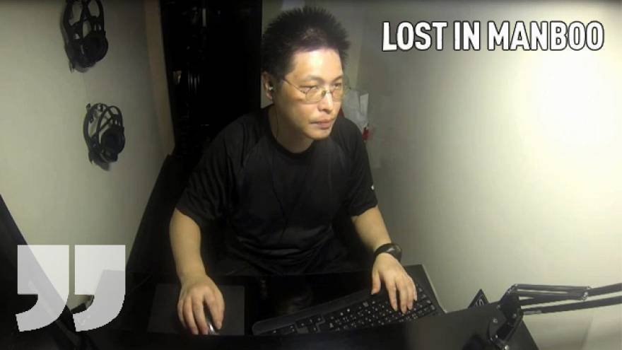 A box with a computer = home: Lost in Manboo