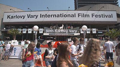 Los jóvenes directores, protagonistas del Festival de Cine de Karlovy Vary