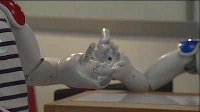 Smart robots galore at the 'Innorobo' show