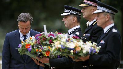 Gedenken an Opfer der Londoner Anschläge von 2005