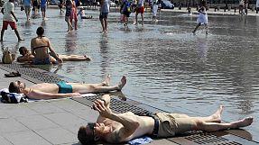 Heatwave heats social media