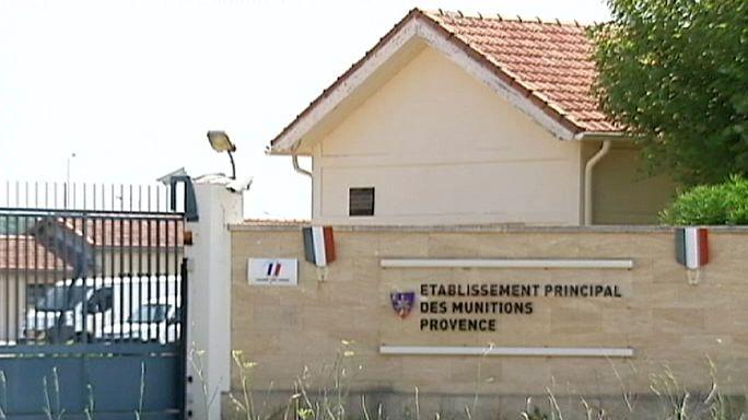 Robbanóanyagokat raboltak egy francia katonai bázisról