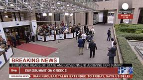 LIVE from Brussels: Special EU Summit on Greek crisis