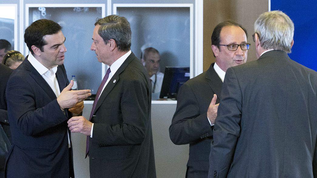قمة طارئة للاتحاد الأوروبي لدراسة الشأن اليوناني